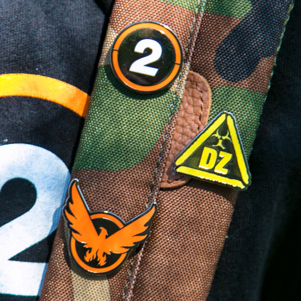 View 2 of The Division 2 Starter Pack Enamel Pin Set photo. alternate photo.