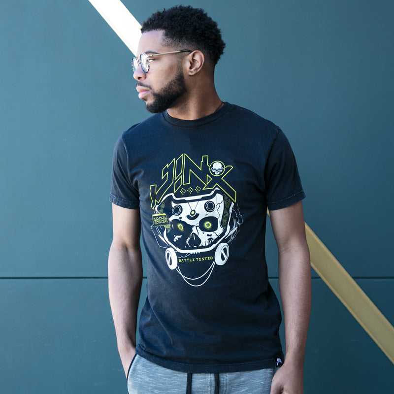 View 1 of J!NX Battle Tested Premium Tee photo.