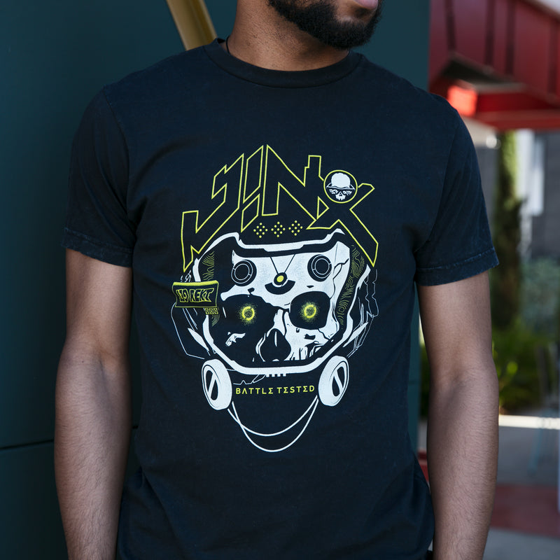 View 2 of J!NX Battle Tested Premium Tee photo.
