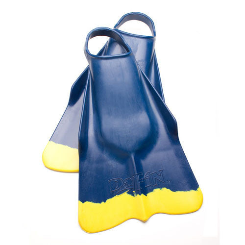 DaFins - Blue / Yellow - Bodysurfing Swim Fins