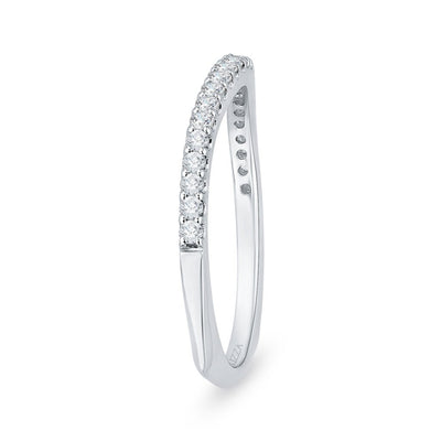Half Eternity Diamond Gold Band