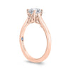 Solitaire Rose Gold Engagement Ring