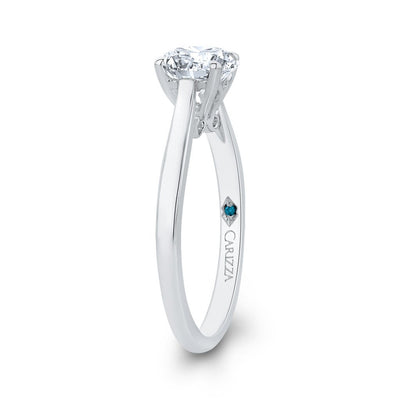 Plain Solitaire Engagement Ring