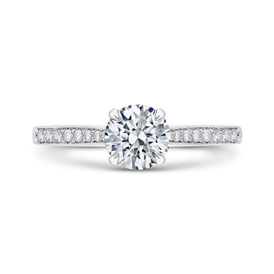 Solitaire Diamond Wedding Ring