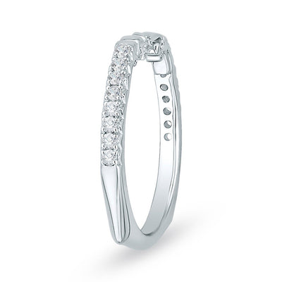 Diamond Gold Wedding Band