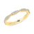 Twisted Eternity Wedding Band