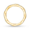 Diamond Yellow Gold Wedding Band