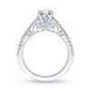Engagement Ring Diamond Setting