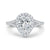 Diamond Pear Engagement Ring