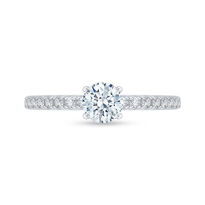 Cathedral Lace Engagement Ring