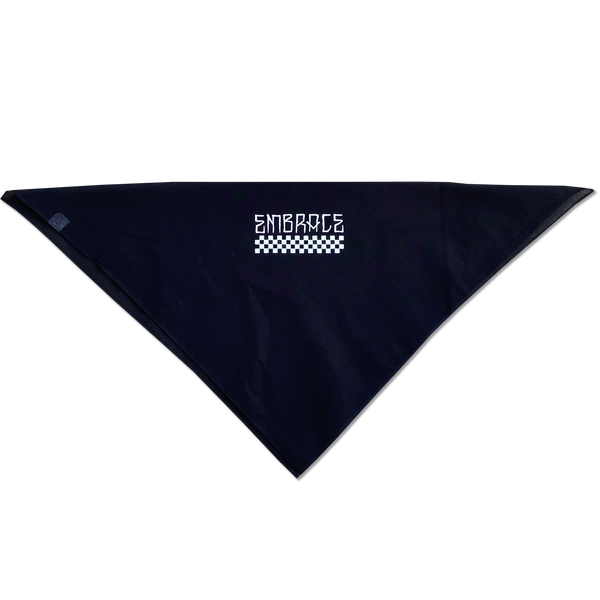 "Embrace ""CHECKERS"" logo bandana"