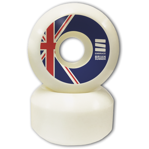 "-Embrace Brian Sumner Pro ""UNION CROSS"" 53mm or 55mm - 83B Pro Formula - Siren Skate Shop"