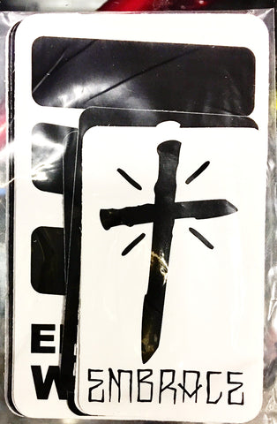 Embrace Sticker Pack - Siren Skate Shop