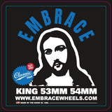 "Embrace team ""KING"" Classic Street - 101A duro 54mm white"