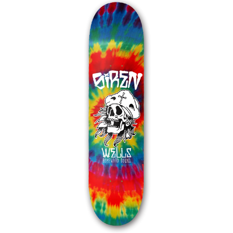 "Siren Casey Wells Pro ""HOMEWARD BOUND"" tie dye - Siren Skate Shop"