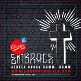 "Embrace team ""STREET CROSS"" Classic Street 53mm wheel - 101A duro"