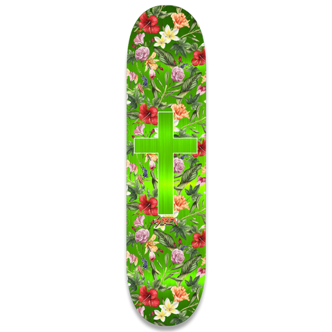 "Siren ""ALOHA CROSS"" green foil 8.1 team deck"