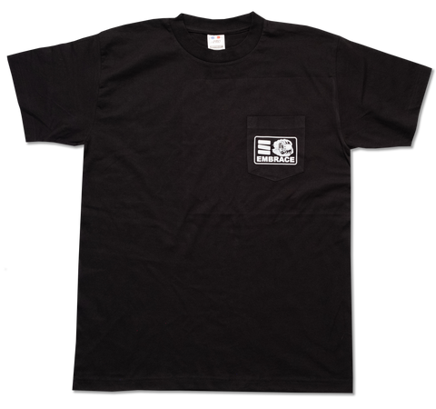 "Embrace ""HOT WHEEL"" short sleeve pocket tee"