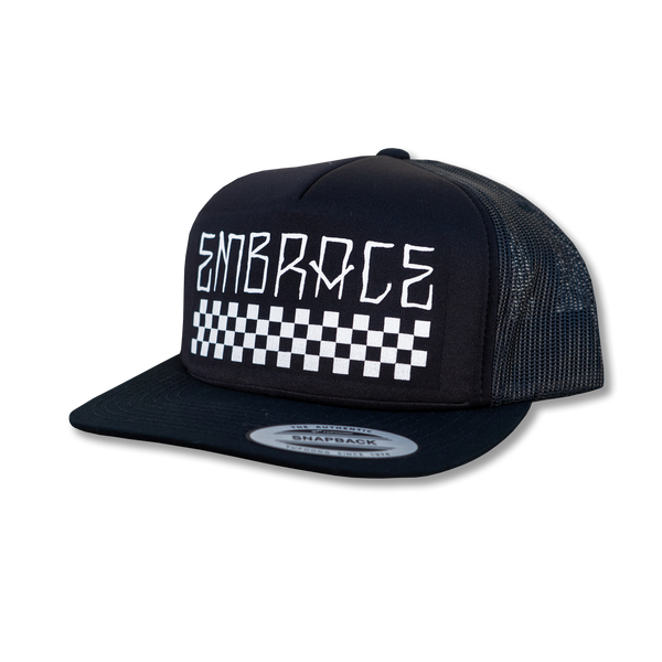 "Embrace ""CHECKERS"" mesh hat"