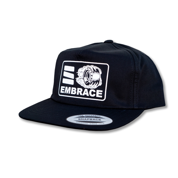 "Embrace ""HOT WHEEL"" unconstructed hat"
