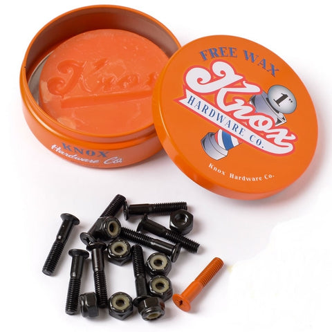 "Knox Hardware 1""  (w/ free wax)"