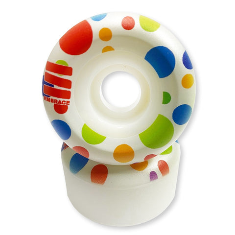 "Embrace team ""POLKA DOT"" Conical - 100A duro 53mm"