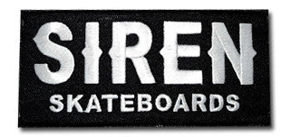 Siren Woven Patch - Siren Skate Shop