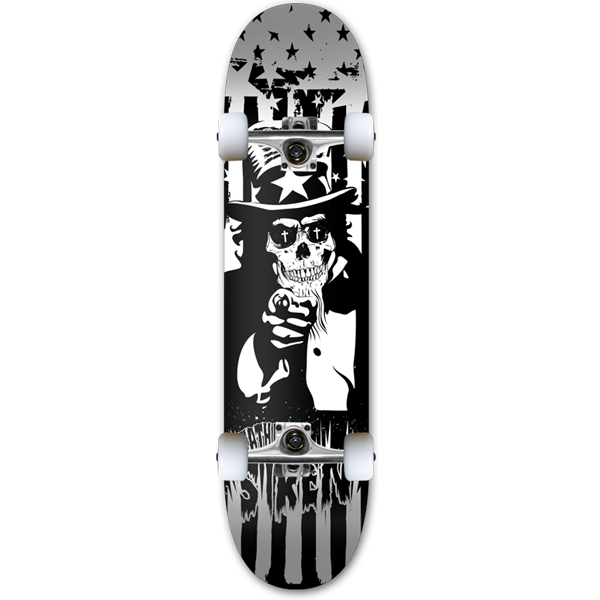 "-Siren complete ""Death is Dead 2"" team 8.0 skateboard - Siren Skate Shop"