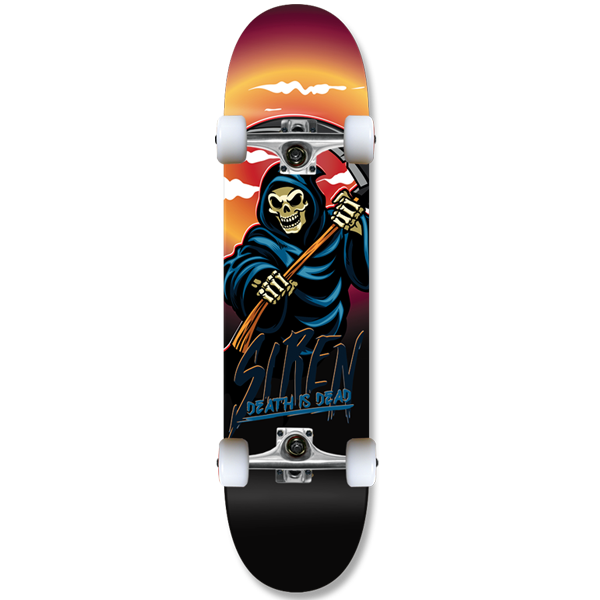 "-Siren complete Death is Dead: ""REAPER"" team 8.25 skateboard - Siren Skate Shop"