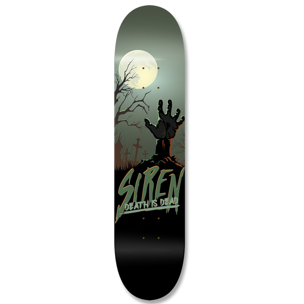 "Siren Death is Dead series ""GRAVEYARD"" team deck - Siren Skate Shop"