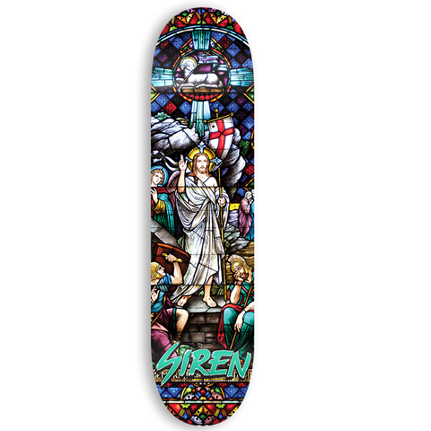 "Siren ""KING"" Stained Glass 8.25 team deck"