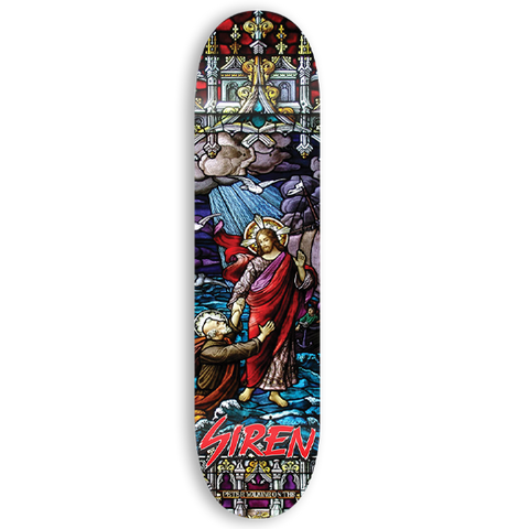 "Siren ""PETER"" Stained Glass 8.0 team deck"