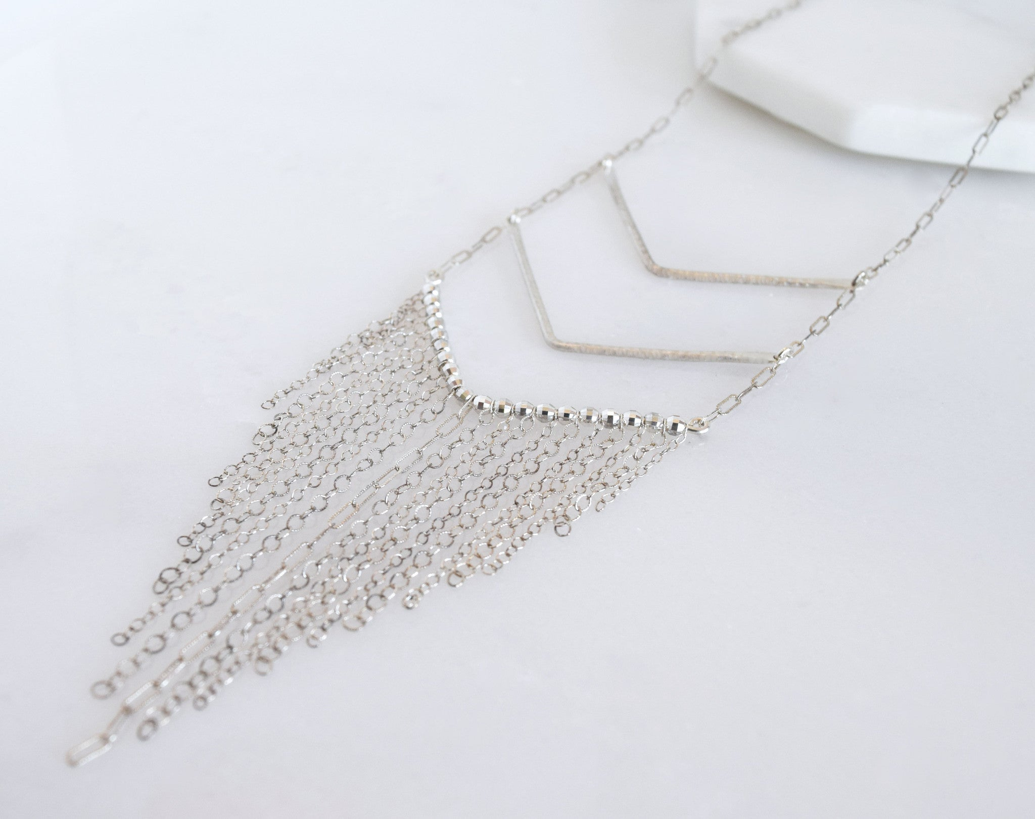 DV fringe necklace