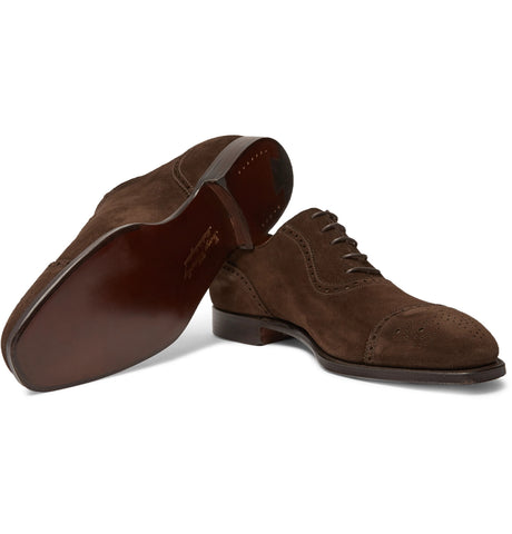 Adam Suede Oxford Brogues