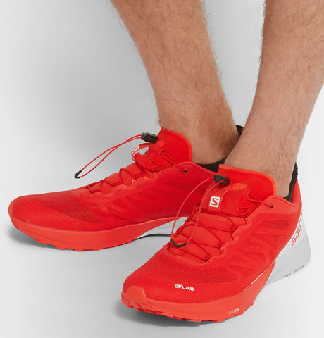 S/Lab Sense 7 Two-Tone Mesh Running Sneakers