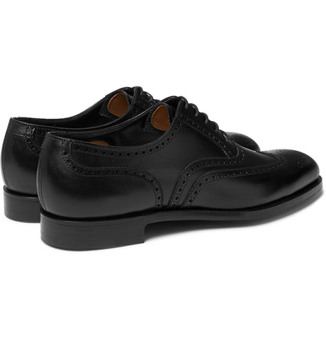 Reuben Leather Wingtip Brogues