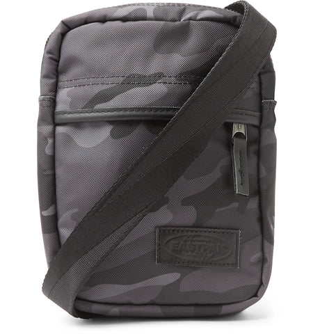 The One Camouflage-Print Nylon Messenger Bag