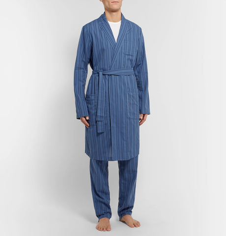 Medway Striped Organic Cotton Pyjama Trousers