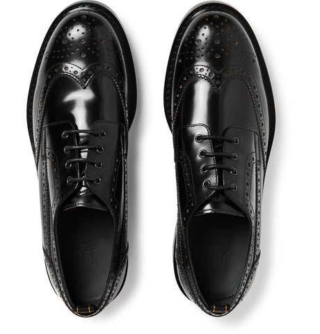 Country Leather Wingtip Brogues