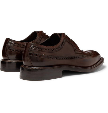 Felix Polished-Leather Longwing Brogues