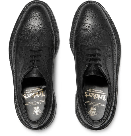 Fulton Pebble-Grain Brogues