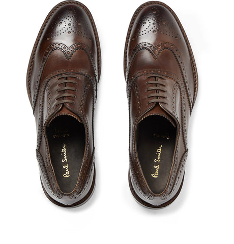 Munro Leather Wingtip Brogues