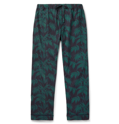Byron Printed Cotton Pyjama Trousers