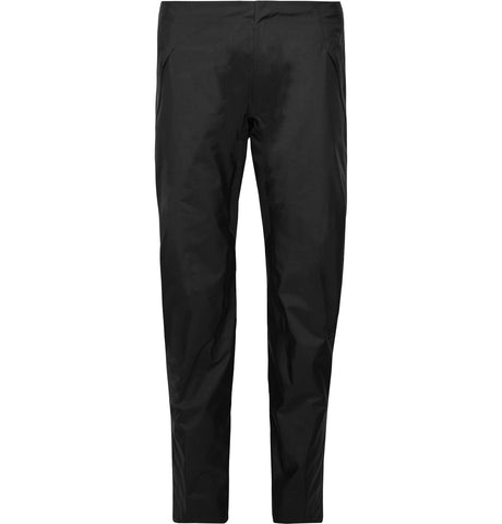 Black Sequent Slim-Fit Cropped GORE-TEX Coated Nylon Trousers