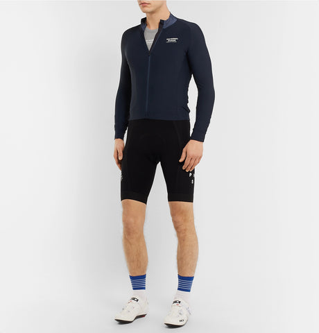 Road to Nowhere Logo-Print Stretch-Mesh Cycling Base Layer