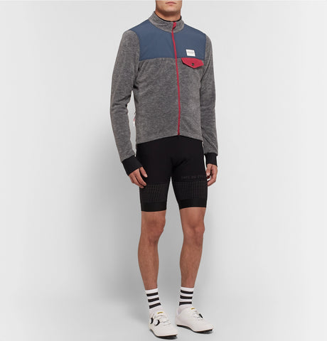 Alphonsine Slim-Fit Fleece Cycling Jacket