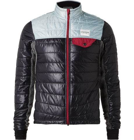 Albertine Quilted Shell and Fleece Jacket