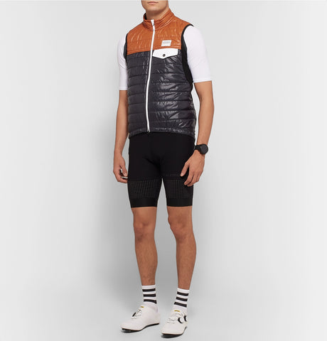Albertine Two-Tone Shell and Fleece Primaloft Cycling Gilet