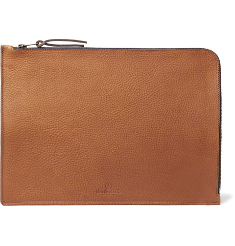 Jim Full-Grain Leather Pouch