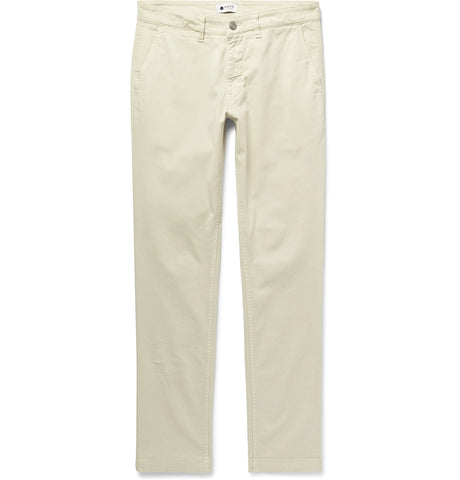 Marco Slim-Fit Stretch-Cotton Twill Chinos